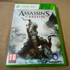 Assassin's Creed III, xbox360, original, alte sute de jocuri!, Actiune, 18+, Single player
