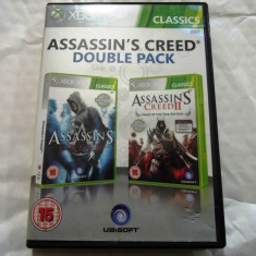 Assassin's Creed I + II, xbox360, original, alte sute de jocuri!, Actiune, 18+, Single player