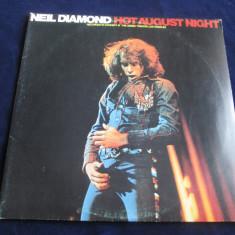 Neil Diamond - Hot August Night _dublu vinyl, 2 x LP _ MCA (UK) - Muzica Rock MCA rec, VINIL