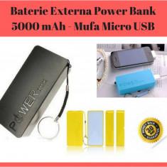 Baterie Externa Pentru Telefon / Tableta Power Bank 5000 mAh - Mufa Micro USB