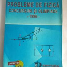 Probleme de fizica - concursuri si olimpiade, 1996, Mihail Sandu - Culegere Fizica