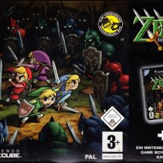 The Legend of Zelda - Four Swords Adventures BOX SET - GameCube [Second hand], Actiune, 3+, Multiplayer