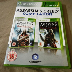 Assassin's Creed Brotherhood + Revelations, xbox360, alte sute de jocuri!, Actiune, 18+, Single player