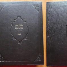Psaltirea lui David , 1848 , legatura integral piele