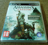Joc Assassin's Creed III original, PS3!, Actiune, 18+, Single player, Ubisoft