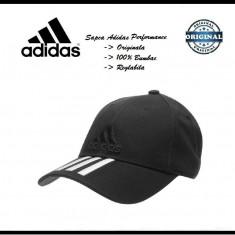 Sapca Adidas Performance Neagra - Originala - Reglabila - Bumbac - Detalii anunt - Sapca Barbati Adidas, Marime: Marime universala, Culoare: Negru