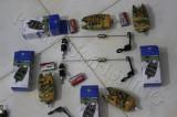 Set 4 Senzori Avertizori  + 4 Swingeri Led Tli-07 Camuflaj Edition Diamant Alb, Swingere