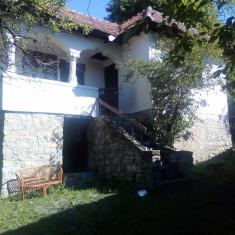 Runcu,  Podul Florii casa vacanta P+1 si casuta lemn,  4000 mp teren ingradit
