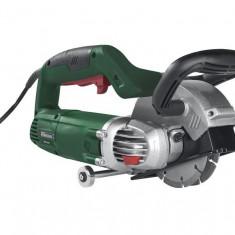 Masina / freza pentru taiat santuri pentru cabluri electrice , tevi, conducte