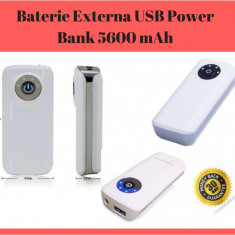 Baterie Externa Pentru Telefon / Tableta Power Bank 5600 mAh / Acumulator Extern