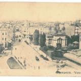 4281 - BUCURESTI, Romania, Victoriei street - old postcard, CENSOR - used - 1918, Circulata, Printata