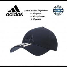 Sapca Adidas Performance Navy - Originala - Reglabila - Bumbac - Detalii anunt - Sapca Barbati Adidas, Marime: Marime universala, Culoare: Bleumarin