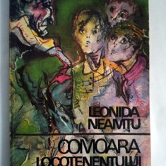LEONIDA NEAMTU - COMOARA LOCOTENENTULUI BALICA, Editura Ion Creanga, 1975 - Carte de povesti