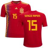 Tricou  SPANIA,15 RAMOS, MODEL NOU 2017/2018, XL, XS, Tricou fotbal