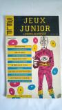Carte de jocuri in limbra franceza, editate in Romanian in 1986, Jeux Juniour