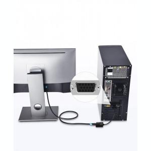 Cablu convertor activ Vention VGA la HDMI cu audio si alimentare, full HD