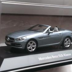 Macheta Mercedes SLK (R172) 2011 gri-metalic - Schuco 1/43