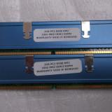 Kit memorie 4gb ddr2 800mhz  cu radiatoare