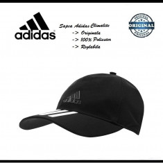 Sapca Adidas Climalite - Originala - Poliester - Reglabila - Detalii anunt - Sapca Barbati Adidas, Marime: Alta, Culoare: Negru