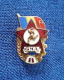 Insigna Atletism - Romania - GMA