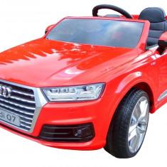 Masinuta electrica Audi Q7 S-Line Rosu - Masinuta electrica copii