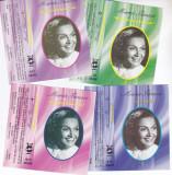 Caseta audio: Maria Tanase - Vol.1-4 ( set 4 casete originale Electrecord )