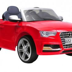 Masinuta electrica Audi S5 rosu - Masinuta electrica copii