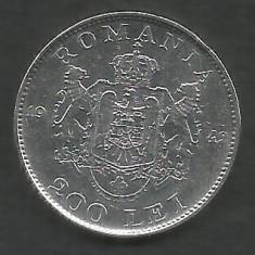 ROMANIA 200 LEI 1942 ARGINT [5] VF, livrare in cartonas - Moneda Romania
