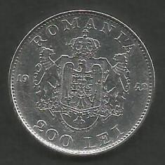ROMANIA 200 LEI 1942 ARGINT [1] XF++, livrare in cartonas - Moneda Romania