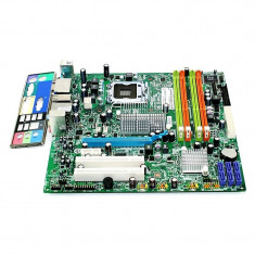 Kit Placa de Baza Acer, Procesor si Memorie RAM + Cooler 4GB DDR3 E8400, Pentru INTEL, LGA775, Contine procesor, Mini-ATX