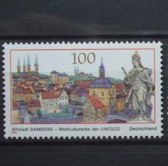 Germania 1996 – MONUMENTE ARHITECTONICE, timbru nestampilat, B38