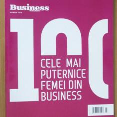 100 cele mai puternice femei din business Romania 2018 (Business Magazin)