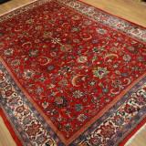 Covor persan mare, Sarouk 210x310 cm, manual, lana, vintage