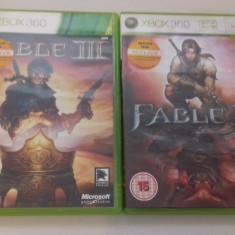 LOT 2 Jocuri - FABLE II + III - XBOX 360 [Second hand] - Jocuri Xbox 360, Actiune, 18+, Single player