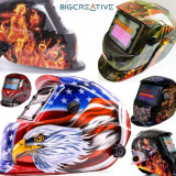 Masca sudura automata casca heliomata ecran display cristale MMA WIG/TIG  MIGMAG
