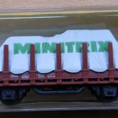 Macheta Vagon marfa Minitrix 3266 - Macheta Feroviara Trix, N - 1:160, Vagoane