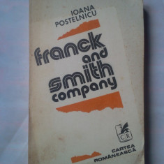 (C375) IOANA POSTELNICU - FRANCK AND SMITH COMPANY