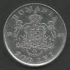 ROMANIA 200 LEI 1942 ARGINT [3] XF+, livrare in cartonas - Moneda Romania