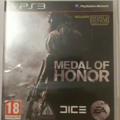 Joc Medal of Honor Playstation 3 PS3, Ea Games