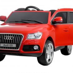 Masinuta electrica Audi Q5 Rosu - Masinuta electrica copii