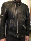 Geaca din piele,pentru bikeri,motociclisti,Hein Gericke,56