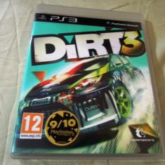 Dirt 3 PS3, original! Alte sute de jocuri - Jocuri PS3 Codemasters, Curse auto-moto, 12+, Multiplayer