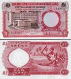 Nigeria 1967 - 1 pound UNC