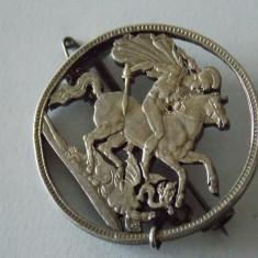 Brosa argint vintage -4142