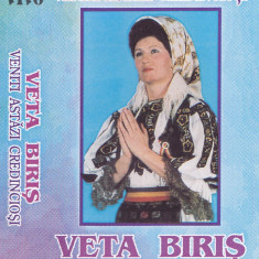 Caseta audio: Veta Biris - Veniti astazi credinciosi ( originala - stare f.buna) - Muzica Sarbatori, Casete audio