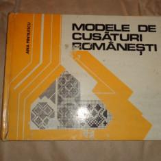 Modele de cusaturi romanesti23pag.+62planse/an 1977- Ana Pintilescu