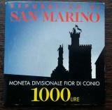 MONEDA SAN MARINO - 1000 LIRE 1997, UNC IN BLISTER, Europa