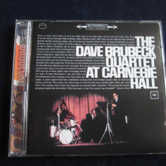 The Dave Brubeck Quartet  - At Carnegie Hall _dublu  CD,album, Columbia