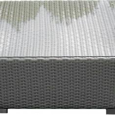Masa de gradina ratan sintetic gri - Masa gradina