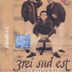 Caseta audio: 3rei Sud Est - Sentimental ( 2001 - originala, stare foarte buna )